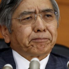 Bank of Japan (BOJ) Governor Haruhiko Kuroda attends a news conference at the BOJ headquarters in Tokyo, Japan, December 18, 2015.  REUTERS/Toru Hanai